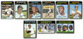 Baseball Cards:Sets, 1971 Topps Baseball Complete Set (752). Set grades EX or better with a few exceptions and includes key cards #5 Thurman Mun...