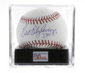 Autographs:Baseballs, Bert Blyleven Single Signed Baseball, PSA Gem Mint 10. A simplyflawless baseball from the twenty-two year veteran of the M...