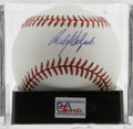 Autographs:Baseballs, Carlos Delgado Single Signed Baseball, PSA Mint+ 9.5. Dangerousslugger and two-time All-Star Carlos Delgado gives us this ...