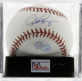 Autographs:Baseballs, Alex Rodriguez Single Signed Baseball, PSA Mint+ 9.5. Arguably the greatest player in the game today, A-Rod offers a blue i...