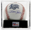 Autographs:Baseballs, Pete Rose Single Signed Baseball, PSA Gem Mint 10. The baseballoffered here is an official OML special edition for the Cin...