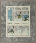 "Original Comic Art:Complete Story, Vaughn Bode - Complete One-page Story ""Snow Consciousness"" OriginalArt (undated)...."