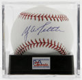 Autographs:Baseballs, Y. A. Tittle Single Signed Baseball, PSA Mint 9. Offered here isthe unique chance to get a strong single signed baseball c...
