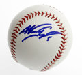 Autographs:Baseballs, Nomar Garciaparra Single Signed Baseball. Official Major Leaguebaseball has been signed by Nomar Garciaparra, one of the f...