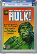 Magazines:Superhero, Hulk #17 (Marvel, 1979) CGC NM+ 9.6 White pages....
