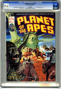 Magazines:Science-Fiction, Planet of the Apes #7 (Marvel, 1975) CGC NM+ 9.6 White pages....