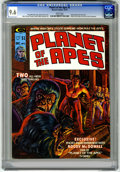 Magazines:Science-Fiction, Planet of the Apes #3 (Marvel, 1974) CGC NM+ 9.6 White pages....