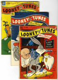 Golden Age (1938-1955):Cartoon Character, Looney Tunes and Merrie Melodies Comics Group (Dell, 1952-55)Condition: Average GD+.... (Total: 16 Comic Books)