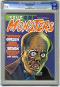 Magazines:Horror, Movie Monsters #3 (Atlas-Seaboard, 1975) CGC NM+ 9.6 White pages....