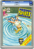 Magazines:Superhero, Spirit, The #36 (Kitchen Sink, 1982) CGC NM+ 9.6 White pages....