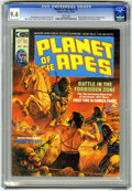 Magazines:Science-Fiction, Planet of the Apes #2 (Marvel, 1974) CGC NM 9.4 White pages....