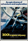 "Movie Posters:Science Fiction, 2001: A Space Odyssey (MGM, 1968). One Sheet (27"" X 41"") Style A.Science Fiction.. ..."