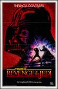 "Movie Posters:Science Fiction, Revenge of the Jedi (20th Century Fox, 1982). One Sheet (27"" X 41"") Dated Teaser Style. Science Fiction.. ..."