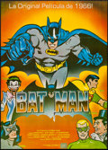 "Movie Posters:Action, Batman (20th Century Fox, R-1989). Spanish One Sheet (26.5"" X 37"").Action.. ..."