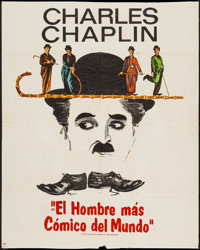 """The Funniest Man in the World (Grove Press, 1967). Trimmed Argentinean Poster (29"""" X 38""""). Documentary"""