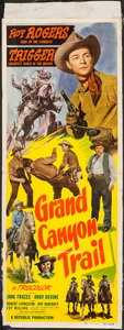 """Movie Posters:Western, Grand Canyon Trail (Republic, 1948). Insert (14"""" X 36""""). Western.. ..."""