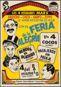 "Movie Posters:Comedy, Marx Brothers Combo (CIC, 1970s). South American One Sheet (27.25""X 39""). Comedy.. ..."