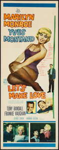 "Movie Posters:Comedy, Let's Make Love (20th Century Fox, 1960). Insert (14"" X 36"").Comedy.. ..."
