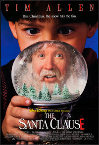 "The Santa Clause & Other Lot (Buena Vista, 1994). Lenticular One Sheet (27"" X 40"") & One Sheet (27&quo..."