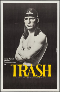 "Trash (Cinema 5, 1970). One Sheet (27"" X 41""). Exploitation"