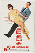 "Movie Posters:Comedy, Sex and the Single Girl (Warner Brothers, 1964). One Sheet (27"" X 41""). Comedy.. ..."