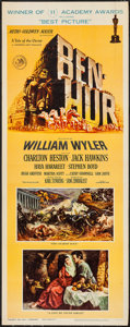 "Movie Posters:Academy Award Winners, Ben-Hur (MGM, 1960). Insert (14"" X 36""). Academy Award Style. Historical Drama.. ..."