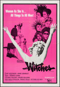 "Movie Posters:Foreign, The Witches (United Artists, 1967). One Sheet (27"" X 41""). Foreign.. ..."
