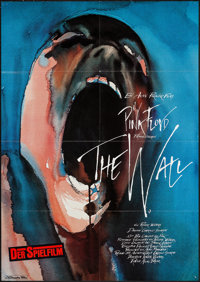 """Pink Floyd: The Wall (Constantin Film, 1982). German A1 (23.5"""" X 33""""). Rock and Roll"""