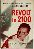 Books:Science Fiction & Fantasy, [Featured Lot]. Robert A. Heinlein. Revolt in 2100. Chicago:Shasta Publishers, [1953]....