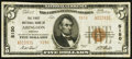 National Bank Notes:Virginia, Abingdon, VA - $5 1929 Ty. 2 The First NB Ch. # 5150. ...
