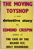 Books:Mystery & Detective Fiction, [Featured Lot]. Edmund Crispin (pseudonym for Bruce Montgomery). The Moving Toyshop. A New Detective Story. ...