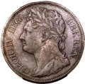 British West Indies, British West Indies: British Colony - George IV copper Pattern 1/50Dollar 1823 SP35 PCGS,...