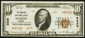 National Bank Notes:Virginia, Marion, VA - $10 1929 Ty. 2 The Marion NB Ch. # 6839. ...