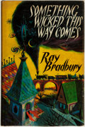 Books:Science Fiction & Fantasy, [Featured Lot]. Ray Bradbury. Something Wicked This Way Comes. London: Rupert Hart-Davis, 1963....