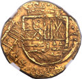 Colombia, Colombia: Philip IV gold 2 Escudos 1635 NR-A MS61 NGC,...
