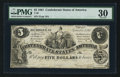 Confederate Notes:1861 Issues, T36 $5 1861 PF-7 Cr. 282. ...