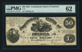 Confederate Notes:1861 Issues, T14 $50 1861 PF-7 Cr. 76.. ...