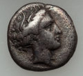 Ancients:Greek, Ancients: ILLYRIA - LOCRIS. Lot of two (2) AR fractions....(Total: 2 coins)
