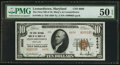 National Bank Notes:Maryland, Leonardtown, MD - $10 1929 Ty. 2 The First NB of St. Mary's Ch. #6606. ...