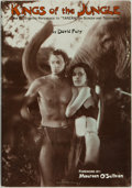 "Books:Reference & Bibliography, David Fury. INSCRIBED/LIMITED. Kings of the Jungle; anIllustrated Reference to ""Tarzan"" on Screen and Television...."