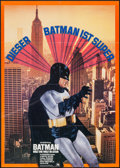 "Movie Posters:Action, Batman (20th Century Fox, R-1970s). German A1 (23.5"" X 32.5"").Action.. ..."