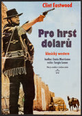 """Movie Posters:Western, A Fistful of Dollars (Gemini Film, 1990). First Release CzechPoster (11.5"""" X 16.5""""). Western.. ..."""