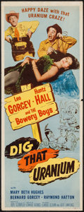 "Movie Posters:Comedy, Dig That Uranium (Allied Artists, 1955). Insert (14"" X 36"").Comedy.. ..."