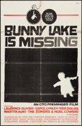 "Movie Posters:Mystery, Bunny Lake is Missing & Other Lot (Columbia, 1965). One Sheets(2) (27"" X 41""). Mystery.. ... (Total: 2 Items)"