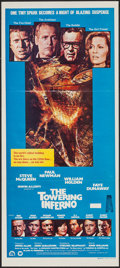 "Movie Posters:Action, The Towering Inferno (20th Century Fox, 1975). Australian Daybill(13"" X 30""). Action.. ..."