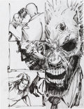 Original Comic Art:Miscellaneous, Dale Keown The Darkness #40 Preliminary ArtworkOriginal Art Group of 3 (Image, 2001).... (Total: 3 Original Art)