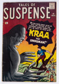 Silver Age (1956-1969):Horror, Tales of Suspense #18 (Marvel, 1961) Condition: VG/FN....
