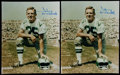 Football Collectibles:Photos, Football Greats Signed Photographs Lot of 10....