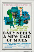 "Movie Posters:Blaxploitation, Baby Needs a New Pair of Shoes (Alert Film Releasing, 1974). OneSheet (27"" X 41"") & Photos (10) (8"" X 10""). Blaxploitation....(Total: 11 Items)"