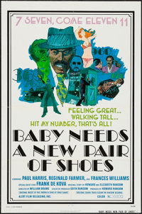 """Baby Needs a New Pair of Shoes (Alert Film Releasing, 1974). One Sheet (27"""" X 41"""") & Photos (10) (8&qu..."""